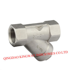 Y-Spring Check Valve, Threaded, 800wog pictures & photos