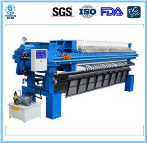 Automatic Verticle PP Mebrane Filter Press pictures & photos