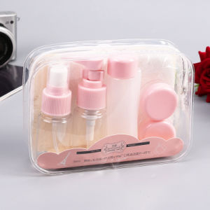 5PCS/Set Portable Travel Shampoo Cream Lotion Cosmetics Refillable Plastic Empty Bottles pictures & photos