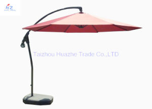 10ft (3m) Hand Push Hanging Banana Umbrella Garden Umbrella Outdoor Umbrella Parasol Sun Umbrella pictures & photos