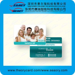 Credit Card Size Blank/Printable PVC Card pictures & photos