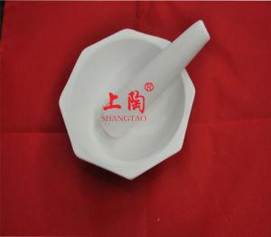 6 Side High Purity Alumina 99% Al2O3 Ceramic Mortar and Pestle pictures & photos