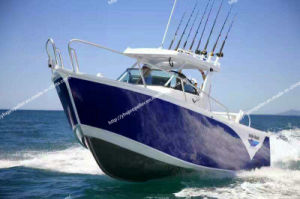 Ce Certificated Aluminum Fishing Boat in Big Sea pictures & photos