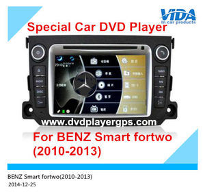 Car Audio DVD Player for Benz Smart Fortwo (2010-2013) with GPS, 3D, Bti pictures & photos