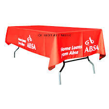 Advertising Printed Table Cloth Waterproof Oxford Tablecloth pictures & photos
