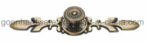 Zinc Classical Furniture Cabinet Kitchen Pull Handles G08018 pictures & photos