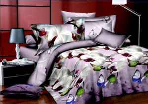 2015 3D Popular Print Bedspread pictures & photos