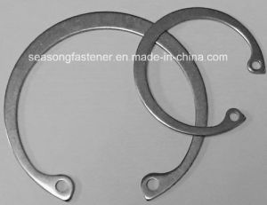 Stainless Steel Retaining Ring / Circlip for Bores (DIN472J) pictures & photos