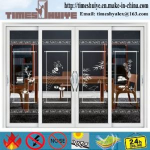 Aluminum Hanging/Sliding Doors with 4 Panels pictures & photos