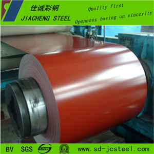 Competitive Dx51d PPGI Steel Coil for Roof Building