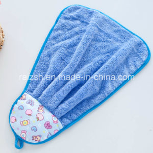 Coral Fleece Hand Towel Kitchen Essential