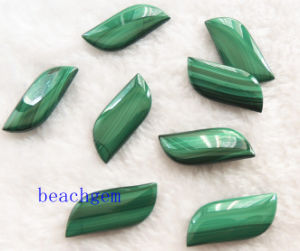 Natural Malachite Leaf Shape Beads pictures & photos