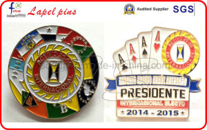 2016 New Custom Lapel Pins Badges Metal Logo pictures & photos