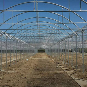 Greenhouse/Cow House with Solar Ventilation Fan