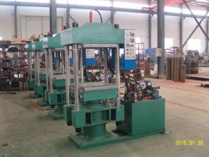 Four Columns Rubber Compression Molding Machine with Automatic PLC Control pictures & photos