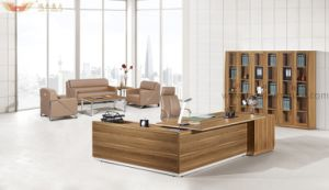 Modern Wooden Panel Melamine Executive Desk for Office Furniture pictures & photos