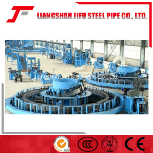 Welded ERW Galvanized Pipe Machine pictures & photos