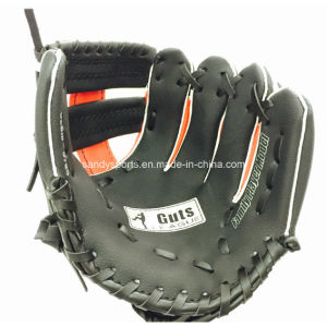 "11"" Promotional PVC Leather Baseball Gloves pictures & photos"