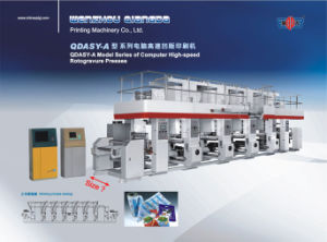 Automatic Printing Press (QDASY-A800/8) pictures & photos