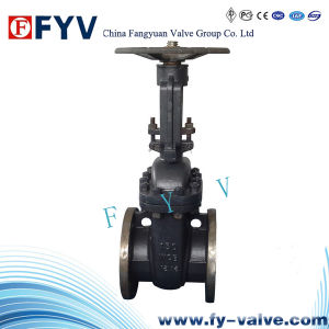 ANSI ASTM Forged Steel Flanged Gate Valve pictures & photos