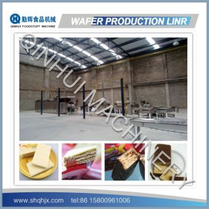 Complete Full Automatic Chocolate Wafer Machine pictures & photos