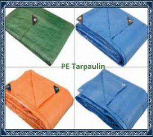 waterproof pe tarpaulin poly tarp plastic tarp with reinforced corners