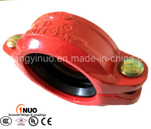 High Quality Flexible Grooved Reducing Coupling with Famous 1nuo Brand pictures & photos