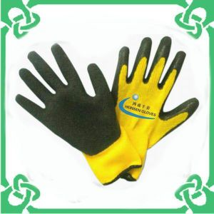 5 Yarn Liner Latex Gloves in Work Gloves