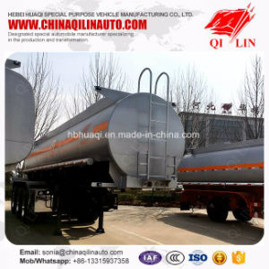 ISO CCC SGS Approved Dangerous Liquids Transport Tank Semi Trailer pictures & photos