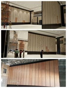 9m High Partition Wall for Multi-Function Hall/Conference Hall pictures & photos