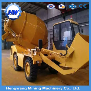 3 Cubic Meter Diesel Mobile Self Loading Concrete Transit Mixer pictures & photos