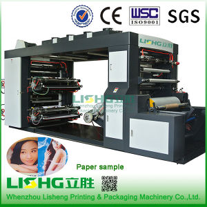 4 Colour Stack Type Paper Flexo Printing Machine pictures & photos