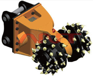 Excavator Attachments Milling Machine/Hydraulic Cutting Unit/Grinding Cutting Drums/Rock Cutting Drums/Drum Cutter (OEM)
