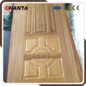 2.7mm HDF Door Skin with Wood Veneer pictures & photos