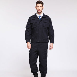 China Making Black Coat Pants Working Uniform pictures & photos