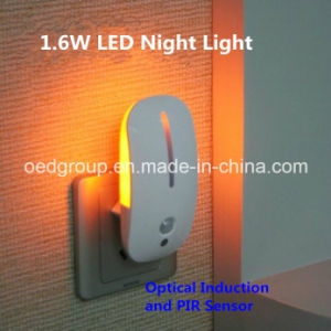 The Mouse Shape Optical and Motion Induction LED Night Light pictures & photos