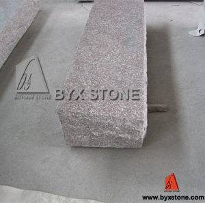Pink Granite Classic Companion Bevel Marker for Cemetery Monument pictures & photos