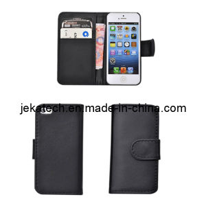 PU Leather Case with Card Slots for iPhone 5/5s pictures & photos