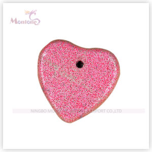 Red Heart Shaped Pumice Stone for Foot Care pictures & photos