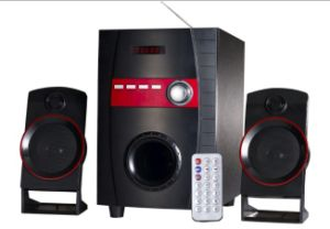 2.1 Multimedia FM LED Screen Speaker with Control Panel Style No. Tsl-320 pictures & photos
