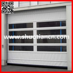 Factory Roller Automatic Sensor Door, Industrial Rollup Door (ST-01) pictures & photos