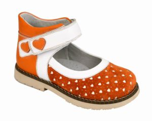 Graceortho Children Shoes School Shoes Girls Sweet Orthopedic Shoes (4613548) pictures & photos