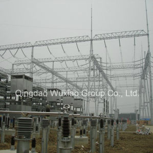 Power Supply Substation Steel Frame for Electric pictures & photos