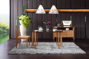 Modern Design Bamboo Dining Table and Chair / Bamboo Furniture Set pictures & photos