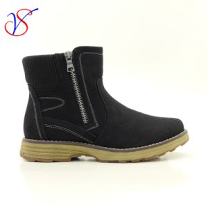 Three Color Men Women Safety Working Work Boots Shoes Sv-Wk-005-Blk
