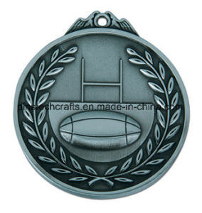 Factory Custom 3D Relief Die Cast Medal with Antique Finish pictures & photos