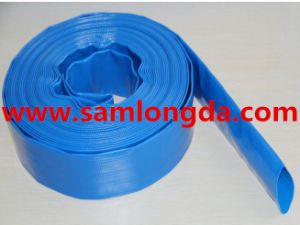 PVC One-Step Extrusion Layflat Hose pictures & photos