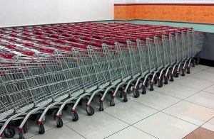 Supermarket Shopping Cart pictures & photos