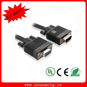 Factory Wholesale Male to Male 15pin VGA Cable pictures & photos