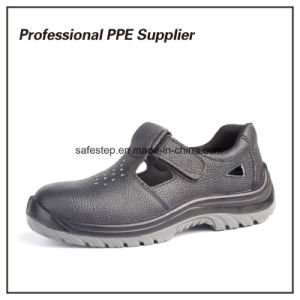 Genuine Leather Summer Breathable Safety Shoes pictures & photos